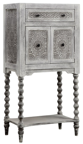 Stein World Torta Grey wash Cabinet 13691