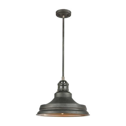 Boni-ale Industrial Farmhouse Metal Shade Pendant