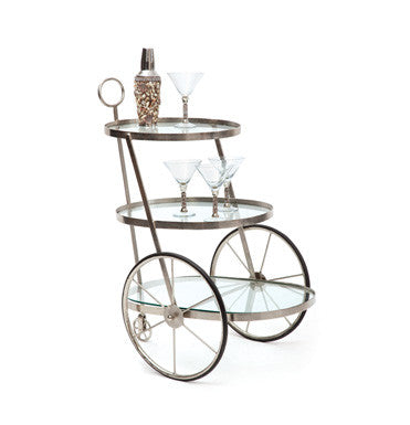 Go Home Miami Bar/Tea Cart 15840 - Rustic Edge