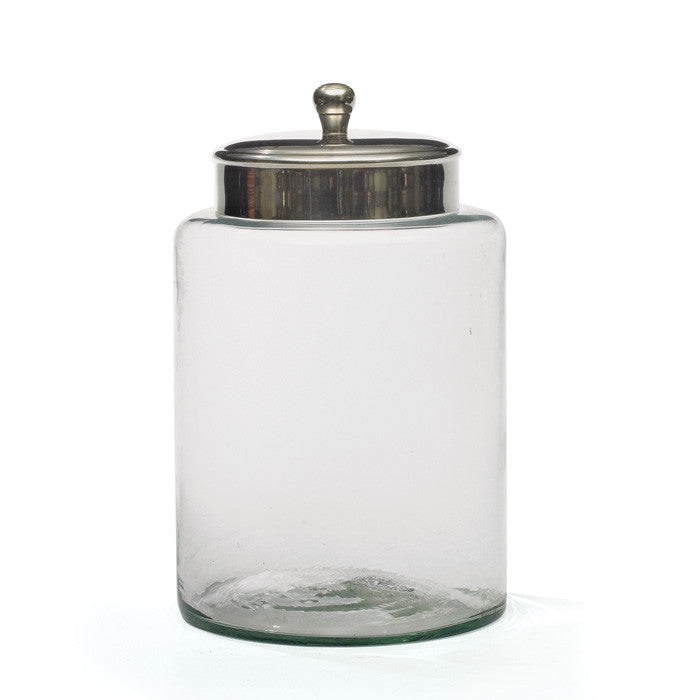 Go Home set of 2 Large Glass Pantry Jar 17097