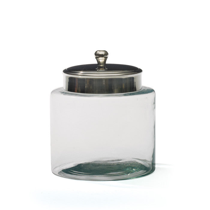 Go Home set of 2 Medium Glass Pantry Jar 17098
