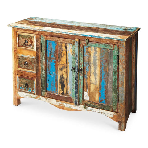 Butler Specialty Artifacts Reverb Rustic Sideboard 1858290 - Rustic Edge