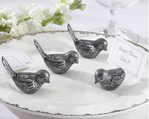 Antique Bird Place Card Holders (Set of 4) Kate Aspen - Rustic Edge