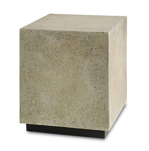 Goodstone Square Concrete Accent Table Outdoors 2018