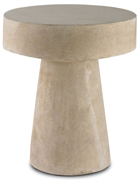 Higham Round concrete Accent Side Table 2025