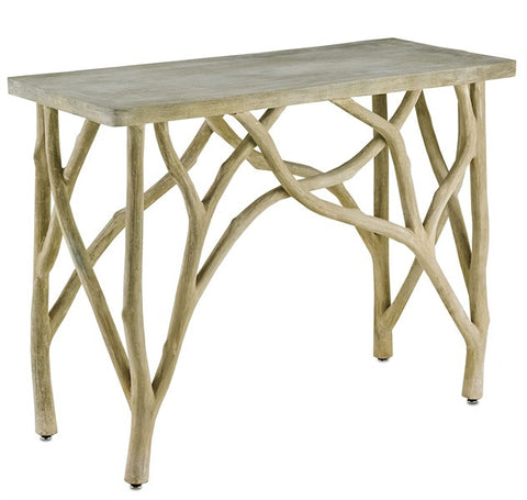 Creekside Rustic Branch Console Table 2037