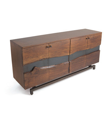 "Go Home Ross Wood and Iron 72"" Sideboard 21177"