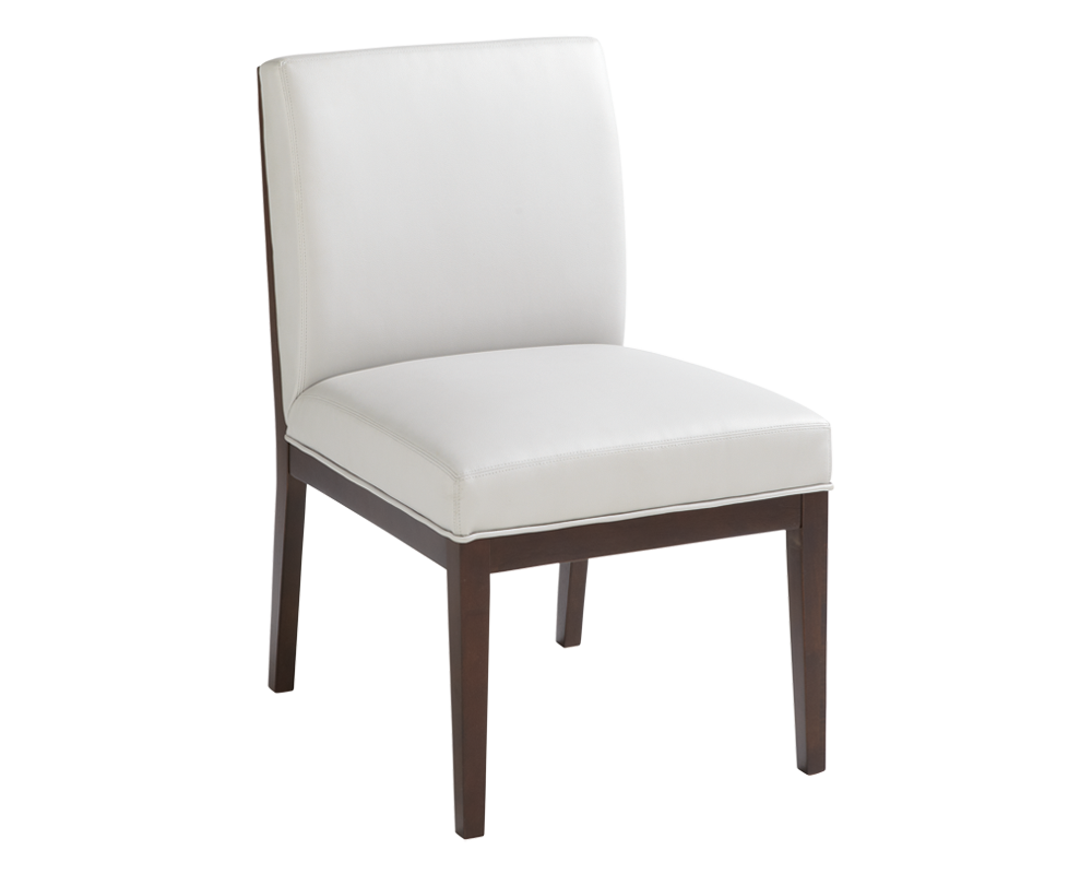 DEVRA DINING CHAIR WHITE - Intrustic home decor