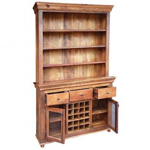 Brisa 2 Piece Kitchen Hutch - Rustic Edge