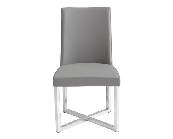 MOESEN DINING CHAIR GREY