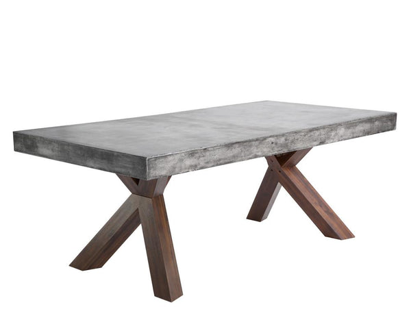 JAGGER RECTANGULAR DINING TABLE - Rustic Edge