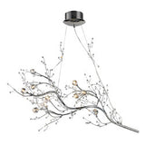 Elk Group Viviana Collection Branch 10 Light Chandelier in Chrome