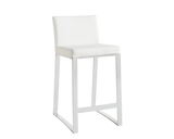 NELLA COUNTER STOOL WHITE