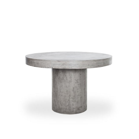 Melissa Fiberstone Dining Table - Rustic Edge