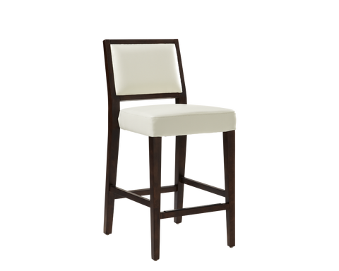ELINOR COUNTER STOOL WHITE