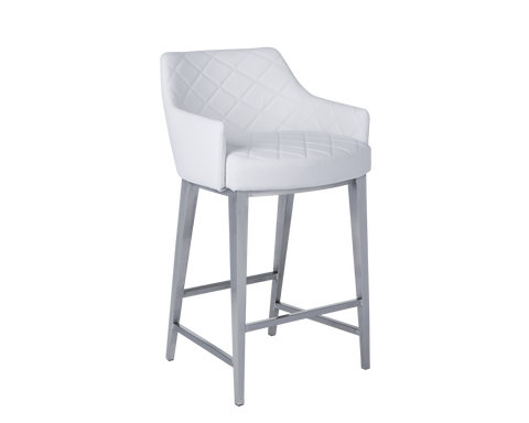 EDYTHE COUNTER STOOL WHITE