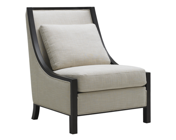 Canyon Accent Chair - Linen - Rustic Edge