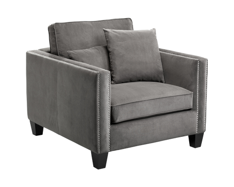 LUDWIK ARMCHAIR GREY