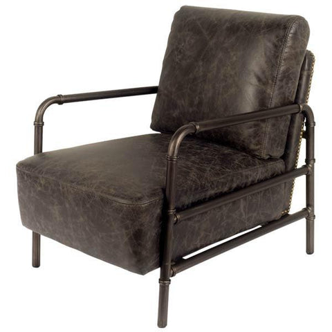 Primrose Leather Chair