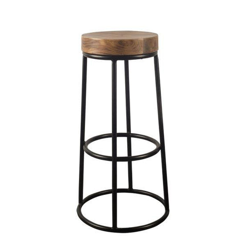 "Michael  27"" Counterstool - Rustic Edge"