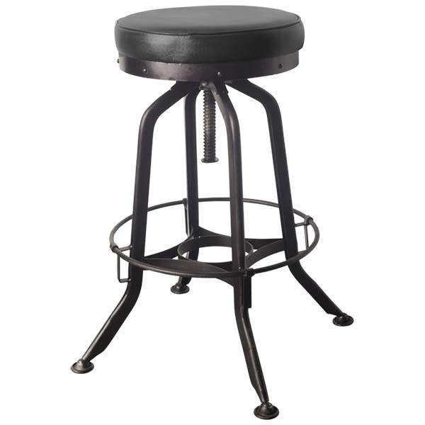 Rumford Stool Black