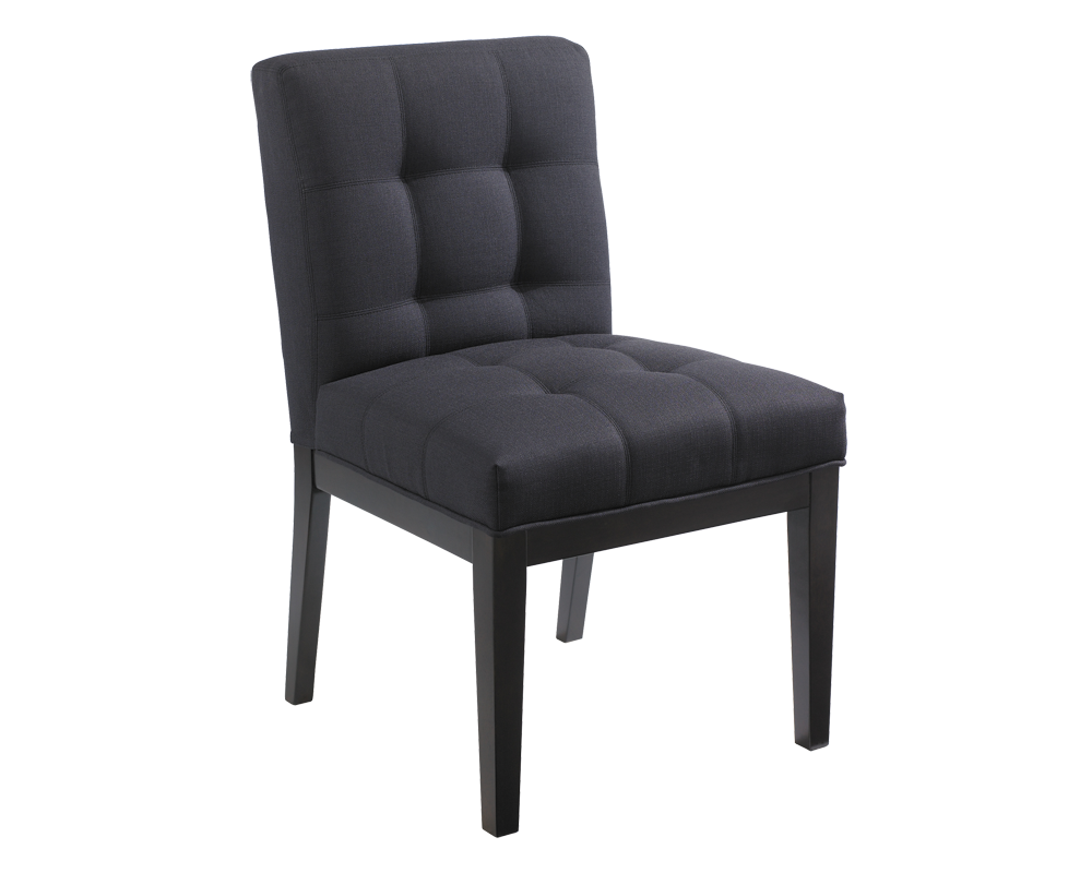 FREDRIK DINING CHAIR CHARCOAL