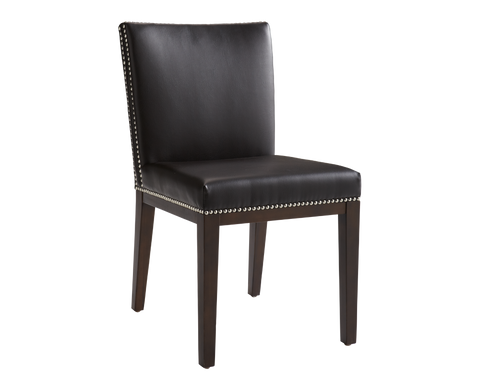 GORDON DINING CHAIR BROWN SET OF 2