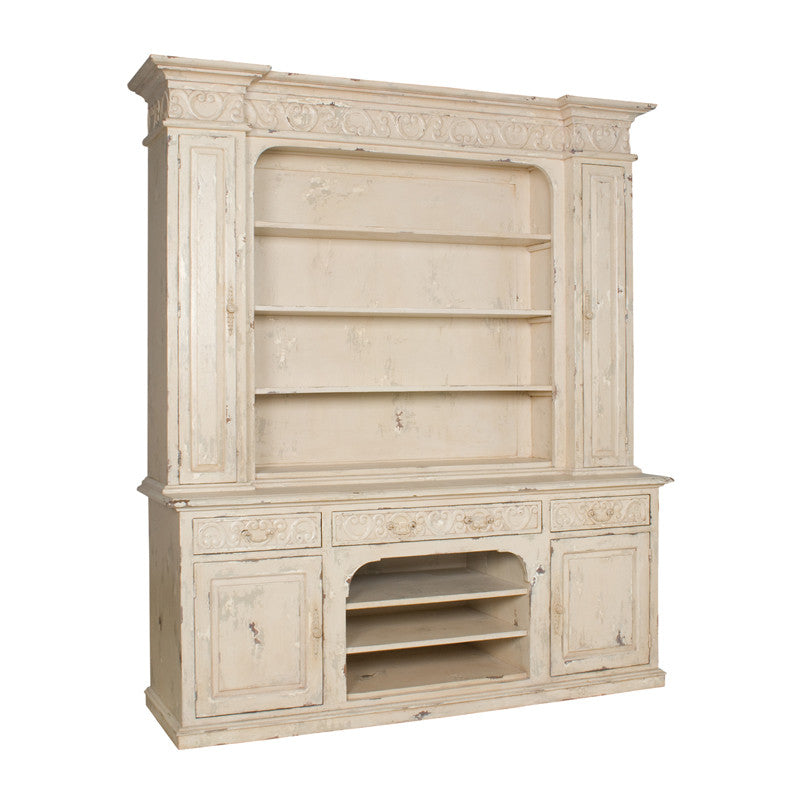 Guildmaster 600506 Signature Cream Entertainment Hutch