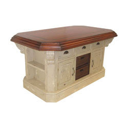 "Guildmaster 635500G Signature 60"" Handpainted Kitchen Island"