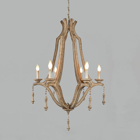 Zippy Chandelier - Rustic Edge