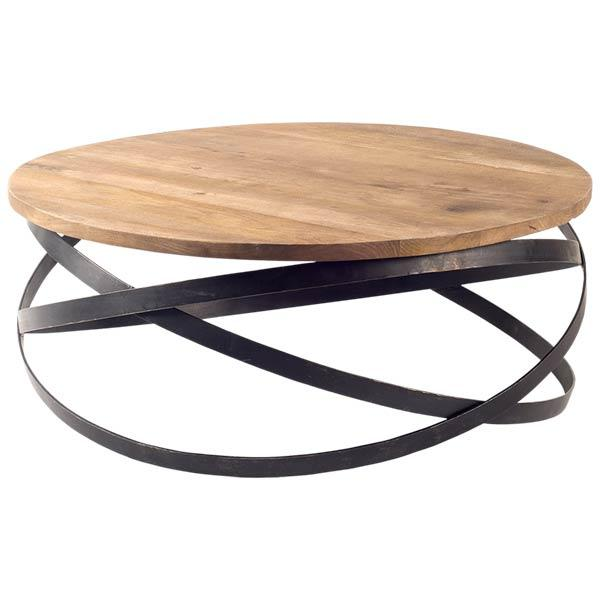 Beldane Mango Wood Coffee Table - Rustic Edge