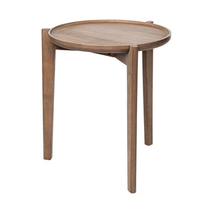 Reveal Round Mid Century Accent Table