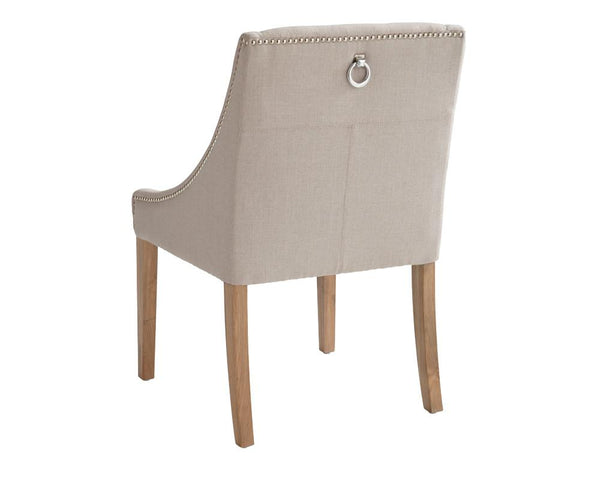 MADDOX DINING CHAIR LINEN