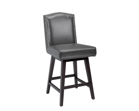 DARTAGNAN SWIVEL BARSTOOL GREY