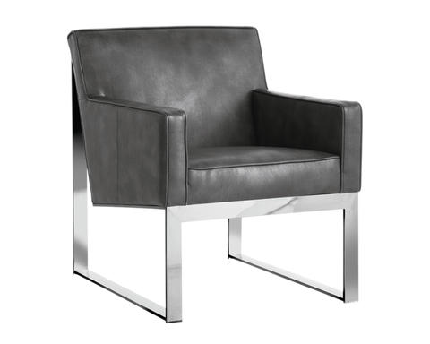 LENNOX ARMCHAIR GREY