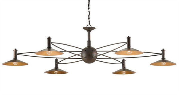Drone Chandelier - Currey & Co 9000-0199