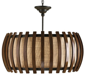 Dado Semi Flush Chandelier 9096 - Currey & Co.