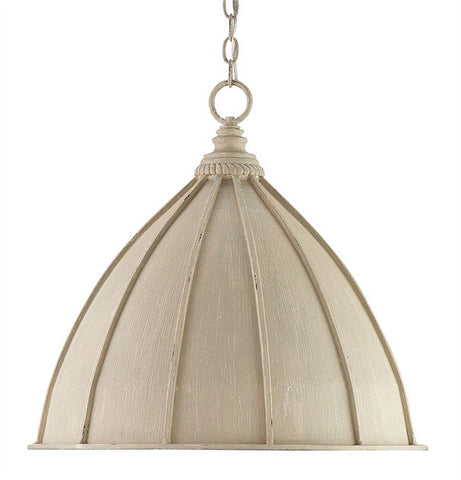 Fenchurch Pendant Oyster Cream finish 9149