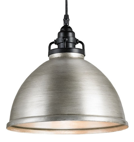 Brushed Nickel Ruhl Pendant 9207 - Currey & Co. - Rustic Edge