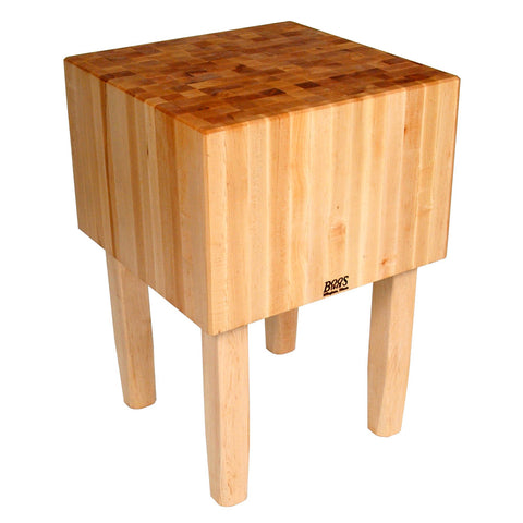 "John Boos 16"" thick Butcher Blocks Table/Island ""AA"""