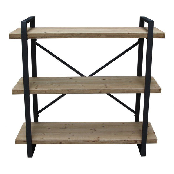 Lexington 3 Level Industrial Bookshelf Natural