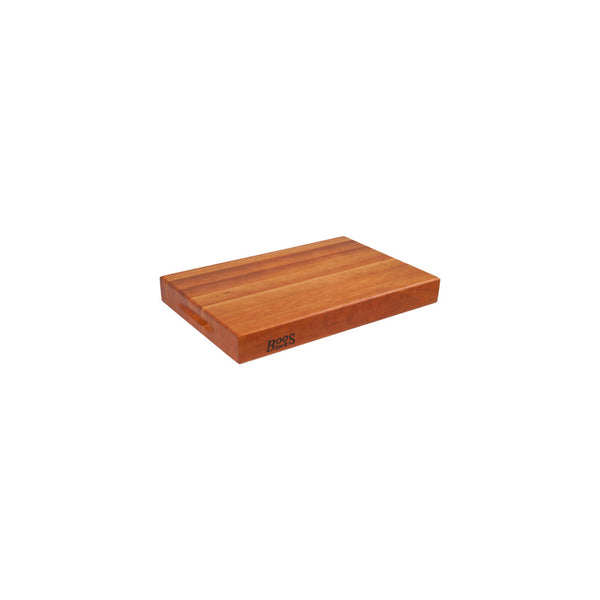 "John Boos Reversible 2-1/4"" thick Cherry Cutting Board RA Series"