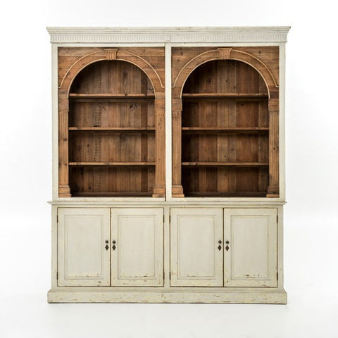Hughes Stanford 2 Part Cabinet/Hutch by Fourhands CIMP-L7-SLTG