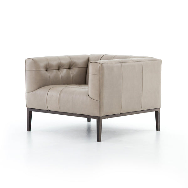 MARLON CLUB CHAIR, DUSTY STONE
