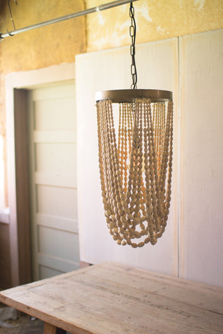 Chelsea Nautical Draping Beaded Chandelier