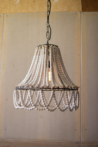 Chelsea Nautical Beaded Chandelier