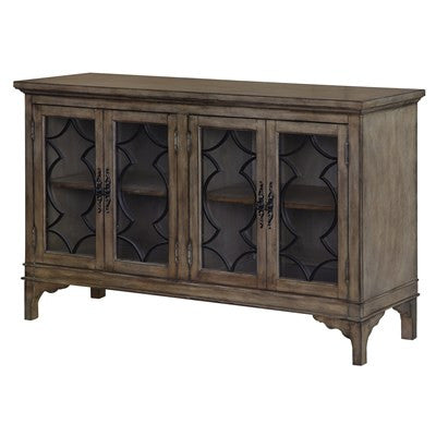 Crestview Wyndham 4 Door Wood & Veneer Sideboard CVFZR1427