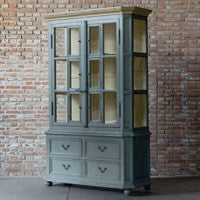 Four Hands Van Thiel And Co. The You Will Need A Lot Of Hinges Cabinet CVT-0252 - Rustic Edge