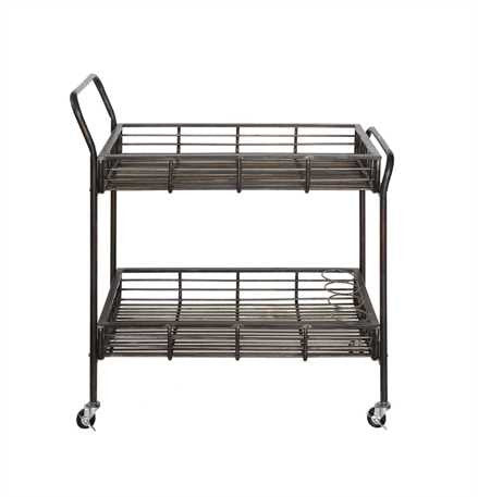 Creative Co-op Sonoma Metal Bar Cart DA6149