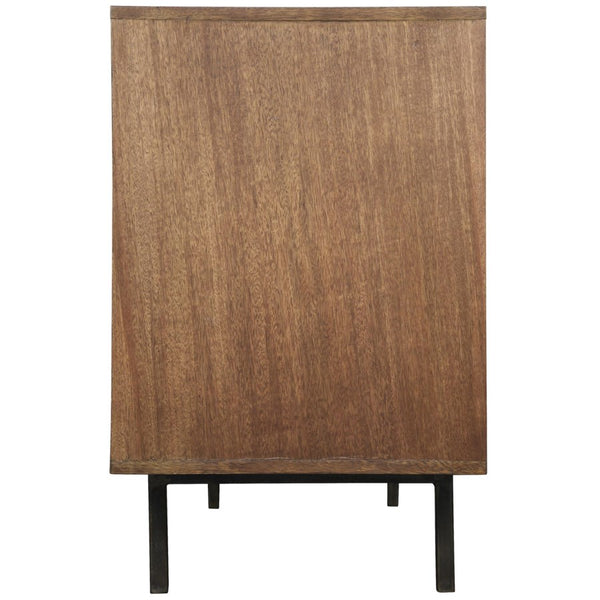 "Michigan 84"" Mid Century Sideboard Walnut - Dark Walnut"